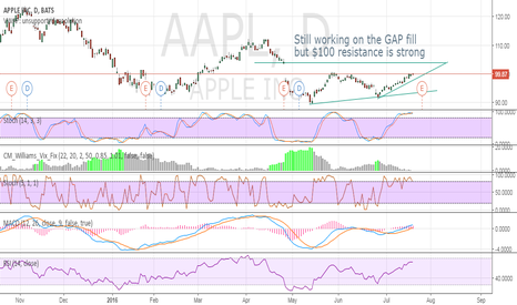 AAPL: Still working on the GAP fill