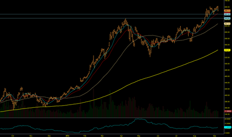 AAPL: AAPL looking to test support