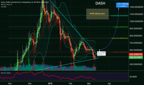 DASHUSD: Dash - It could be a fast and dramatic price rise