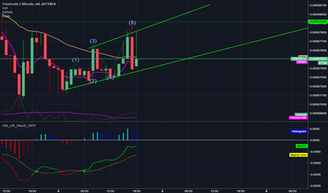 TRSTBTC: Trustcoin shows this pattern. Sell/Buy?