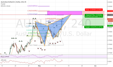 AUDUSD: Potential Bearish Butterfly