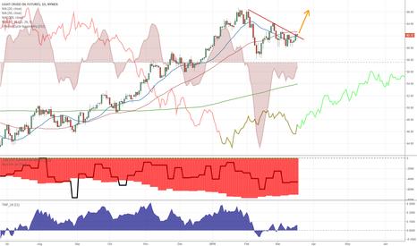 CL1!: Bullish trendline break