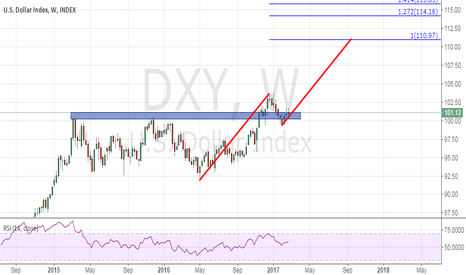 DXY: US dollar index could be 110