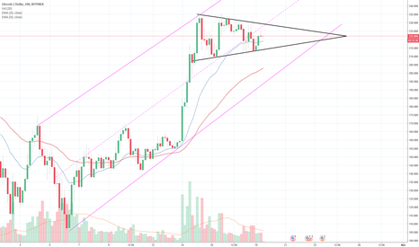 LTCUSD: LTCUSD exit from the flag.