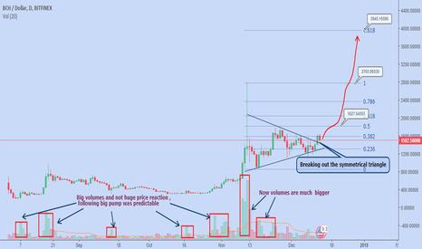 BCHUSD: Will Bitcoin Cash replace Bitcoin???
