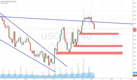 USOIL: WTI Oil More Down