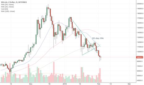 BTCUSD: Bitcoin in for bear market