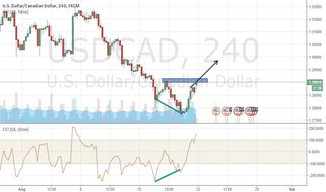 USDCAD: USDCAD Potential bullish reversal