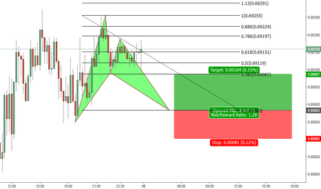 NZDUSD: Possible Bat pattern is here to complete