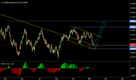 USDJPY: Flag Pattern(A Corrective Structure) {Long Term Idea}