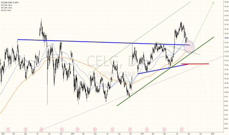 CELG: CELGENE PULLBACK PROVIDES A GREAT LONG OPPORTUNITY