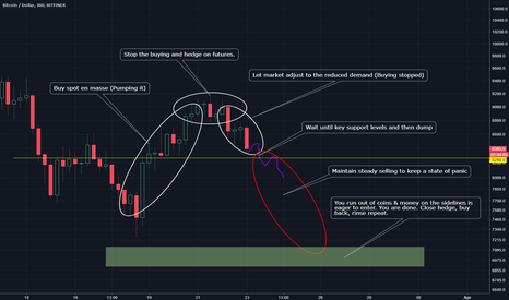 BTCUSD: How a whale may be influencing price for fun and profit