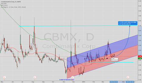 CBMX: retest 52w high by next earnings date is possible