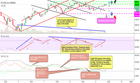 BTCUSD: BTC Market Update on the hourly chart