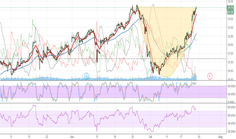 MGM: MGM cup with potential handle formation