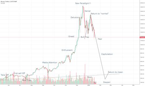 BTCUSD: BTC bubble mania, pop scenario - UPDATE