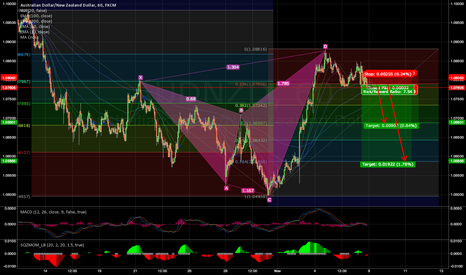 AUDNZD: AUDNZD going short...