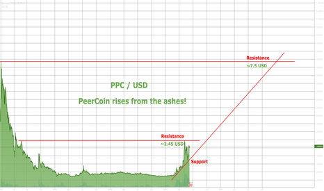 PPCUSD: PeerCoin Set for a Comeback? (PPC/USD)