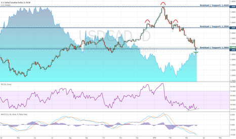 USDCAD: USDCAD on Oil Recovery and Fed's Next Move
