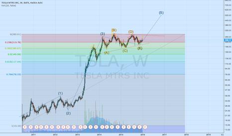 TSLA: TSLA in wave 5 already