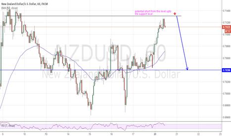 NZDUSD: NZD/USD 1HR