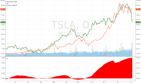 TSLA: Is Bitcoin about to fall lower?