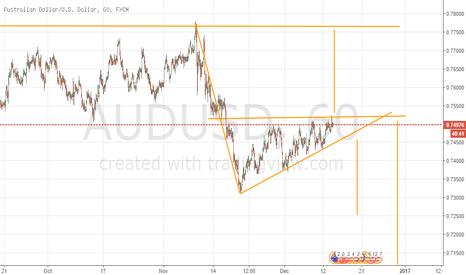 AUDUSD: Hedge the Wedge