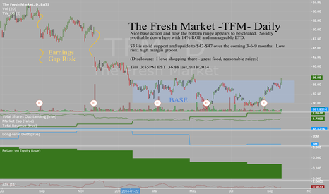 TFM: The Fresh Market - TFM - Daily - Breaking out of the base