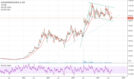 ALPHAGEO: Alphageo - Long Consolidation and Flag formation