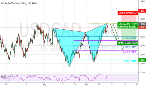 USDCAD: Butterfly active !