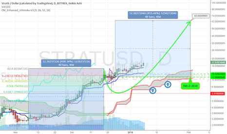 STRATUSD: STRATIS +450% target $63.00 by Feb-2nd 2018