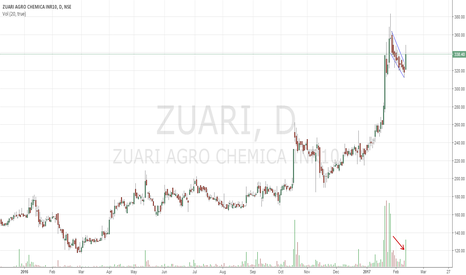 ZUARI: Zuari Agro Buy Flag Breakout !