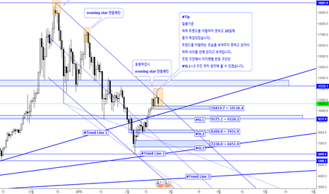 BTCUSD: Bitcoin USD 조정구간 Support Levels