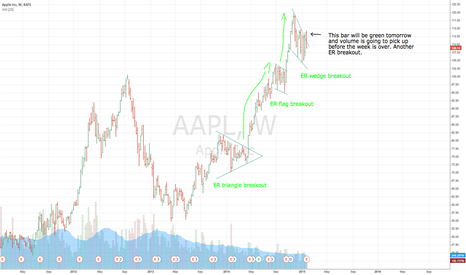 AAPL: Another AAPL ER breakout.
