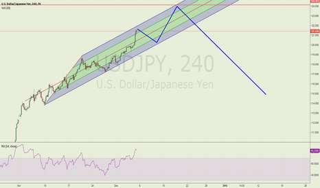 USDJPY: Speculated midterm USDJPY price action