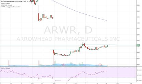 ARWR: ARWR Cup and Handle