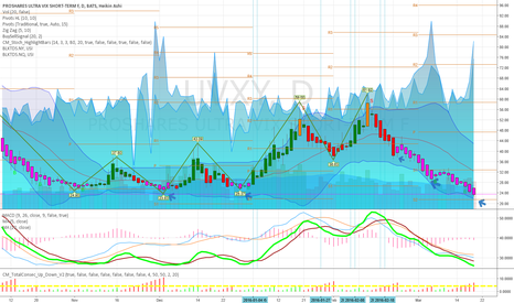 UVXY: Long Volatility for the upcoming whatever term. UVXY over $30