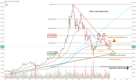 BTCUSD: Bitcoin : King of cryptocurrencies still in danger