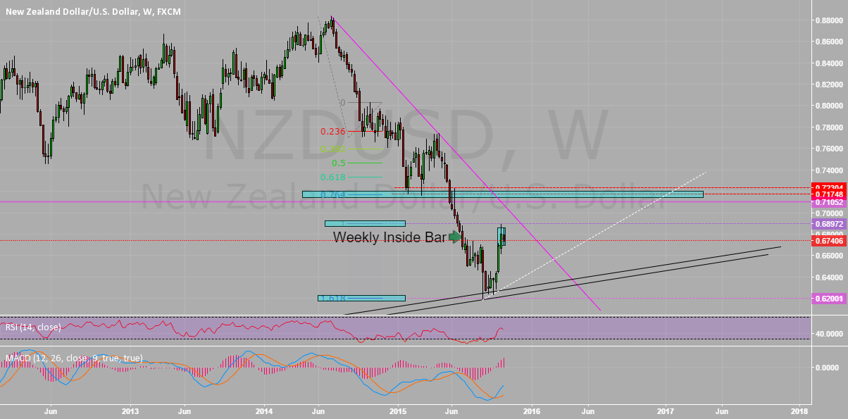 NZDUSD POTENTIAL LONG (Weekly) #13