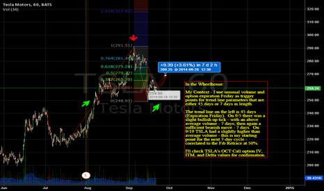 TSLA: Unusual Volume Triggers for Cyclic Trends