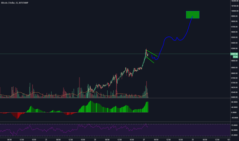BTCUSD: Seems its going to touch the 10K soon!