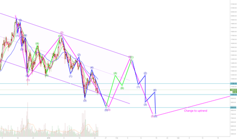 BTCUSD: It seems like BTC is still waiting for the 5th wave down.