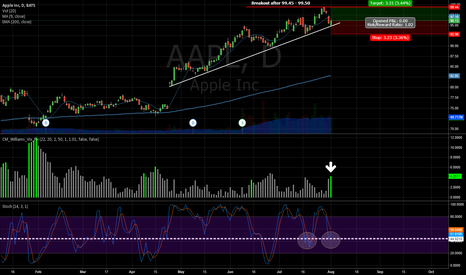 AAPL: AAPL Bouncing off support