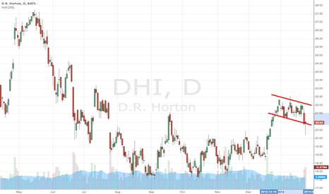 DHI: Bull flag