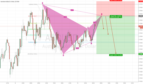 AUDUSD: The gartley