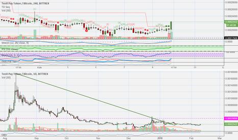 PAYBTC: TenX (PAY) Strong Long Fundamentals Trade (760%+ Potential)