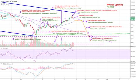 BTCUSD: BTCUSD How whales manipulate the market - 10 Steps