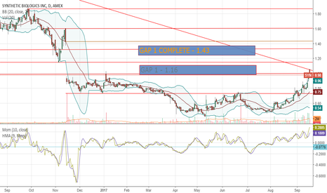 SYN: $SYN - Plotting support, resistance and gaps above