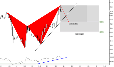 USOIL: (1h) Bearish Butterfly