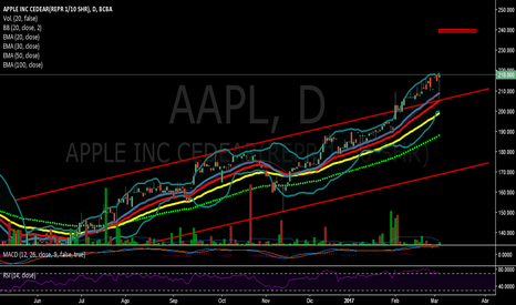 AAPL: APPLE CEDEAR quiebre canal ...